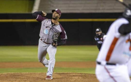 JC Ramírez abrirá quinto juego de la Serie Final ante Hermosillo