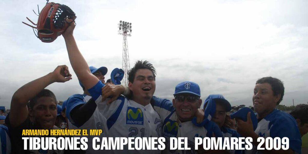 Tiburones de Granada. Campeones del German Pomares 2009