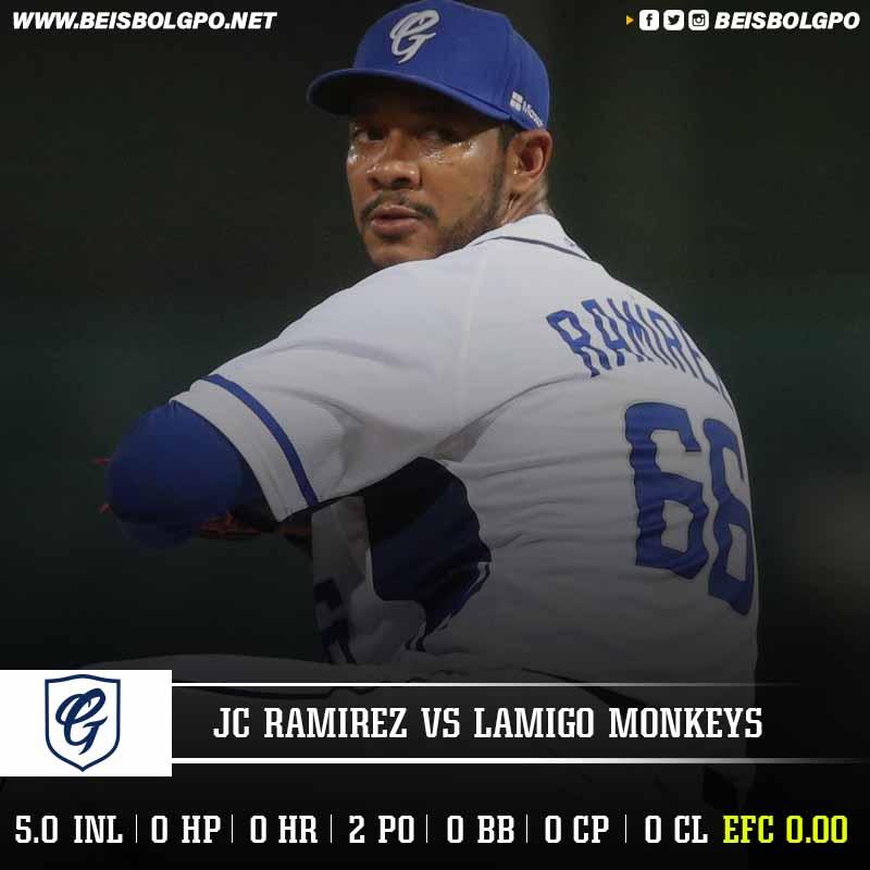 Labor JC Ramírez vs Lamigo Monkeys
