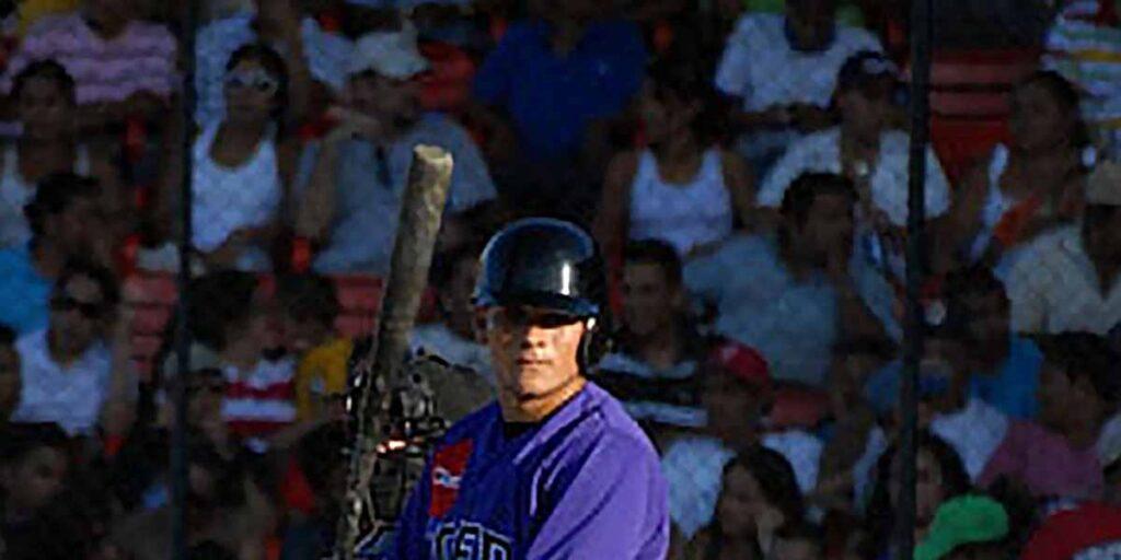 Ramón Flores, conectó los primeros jonrones de su carrera en 2008 con el Bóer