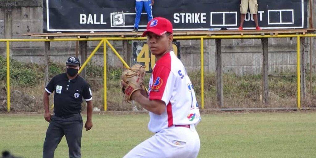 Santos jarquín no hitter vs Costa Caribe Pomares 2021