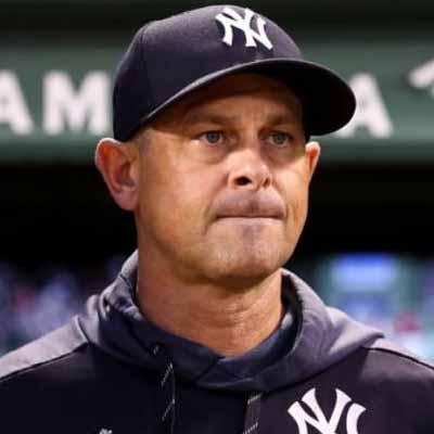 Aaron Boone manager de los Yankees de Nueva York