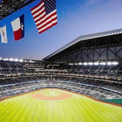 El Globe Life Field nueva casa de los Rangers de Texas contará con 100% de su capacidad