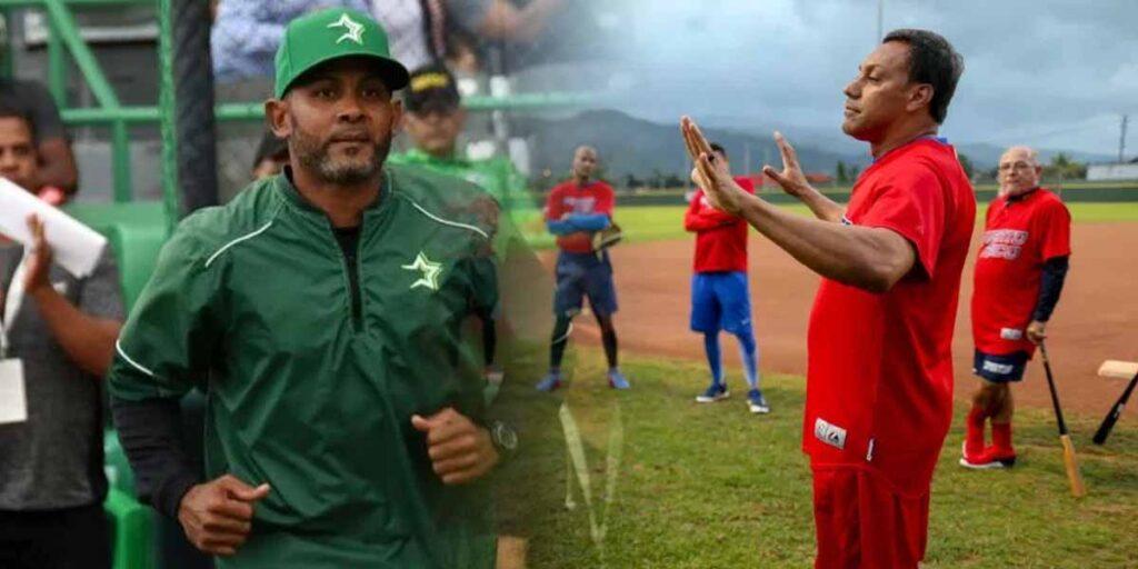 Fernando Tatis y Juan Igor Gonzalez Preolímpico de Béisbol