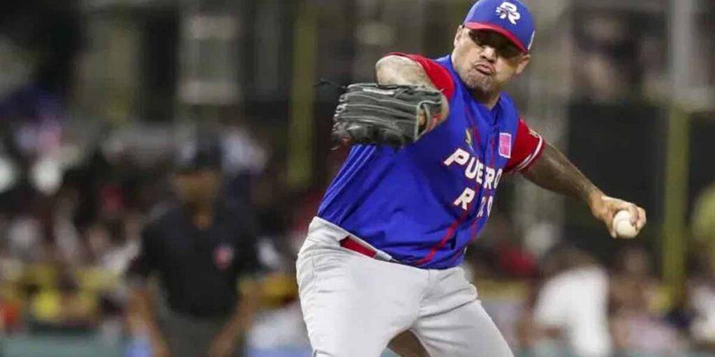 Giovanni Soto ex grandes ligas de Puerto Rico al Preolímpico de las Américas