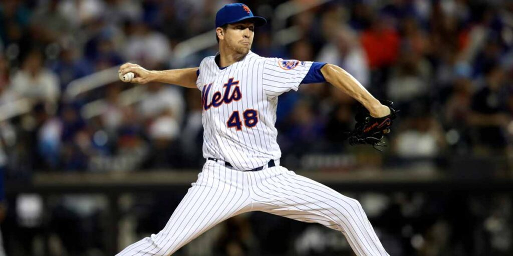 Jacob deGrom con 15 ponches