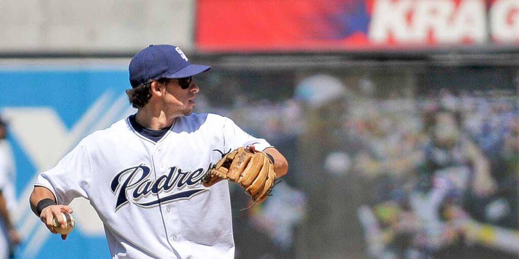 Sean Kazmar debutó en 2008 con Padres de San Diego