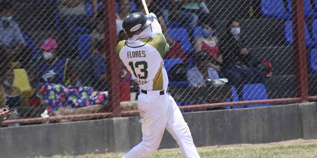 Ramón Flores, 5 HR y 13 CI vs Madriz