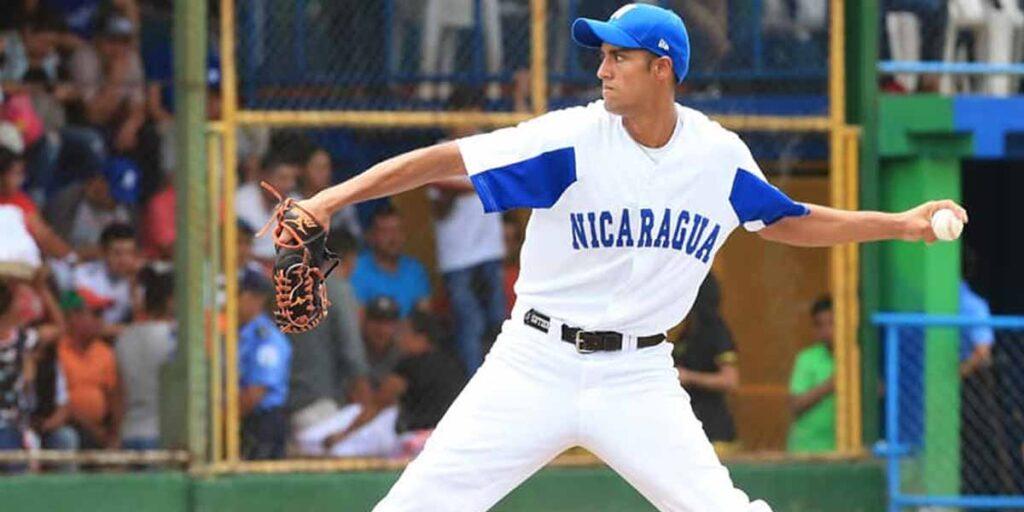Elias Gutiérrez por Nicaragua vs Dominicana Preolímpico