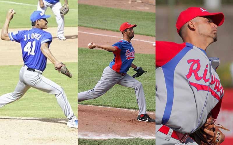 Tres lanzadores por hazaña Pomares 2021