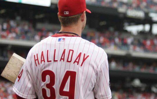 Roy Halladay Phillies Número 34