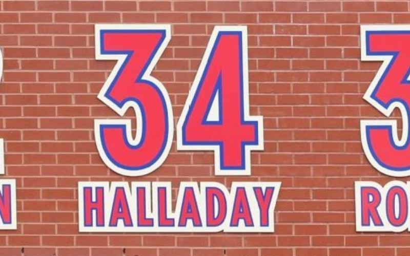 Roy Halladay retiro número 34